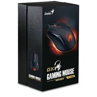 Проводная мышь Genius mmox X1-400, USB mouse, 4-Button,12 Macros,400-3,200 dpi,4 game profiles (31040033104)