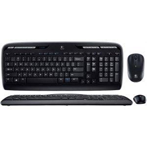 Клавиатура с мышью Logitech Wireless Combo MK330