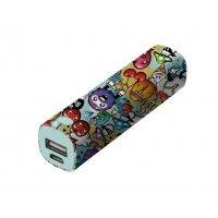 Портативное зарядное устройство (Power Bank) Trust Tag PowerStick 2600 – graffiti objects (20866)