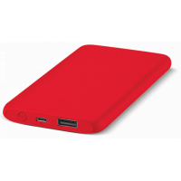 Портативное зарядное устройство (Power Bank) Ttec Powerslim 5000mah Red