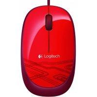 kupit-Проводная мышь Logitech Mouse M105 Red -v-baku-v-azerbaycane