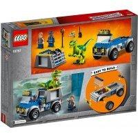 КОНСТРУКТОР LEGO Juniors Грузовик спасателей для перевозки раптора (10757)
