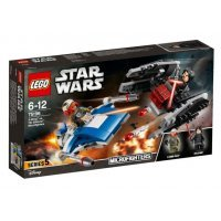 kupit-КОНСТРУКТОР LEGO Звездные Войны Истребитель A против бесшумного истребителя (75196)-v-baku-v-azerbaycane