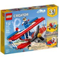 КОНСТРУКТОР LEGO Creator Самолёт для крутых трюков (31076)
