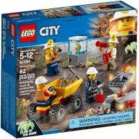 КОНСТРУКТОР LEGO City Mining Бригада шахтеров (60184)