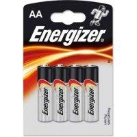 Батарейки Energizer battery Alkaline AA(4) LR6