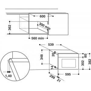Микроволновка Hotpoint-Ariston MN 513 IX HA (Silver)