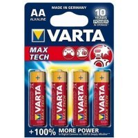Батарейки VARTA MAX TECH 4706 AA (4)