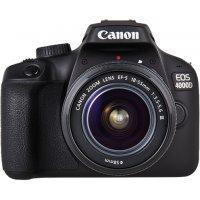 Зеркальный фотоаппарат Canon EOS 4000D 18-55+SB130+16GB (3011C015)
