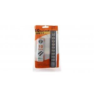 Хаб USB 2,0 10 port (P-1603)