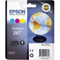 Картридж Epson Tri-colour Ink for WorkForce WF-100W (C13T26704010)