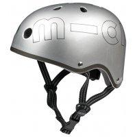 kupit-Шлем Micro helmet metallic silver M (AC4509)-v-baku-v-azerbaycane