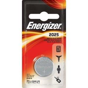 Батарейки Energizer battery Litium 3V(1) CR2025
