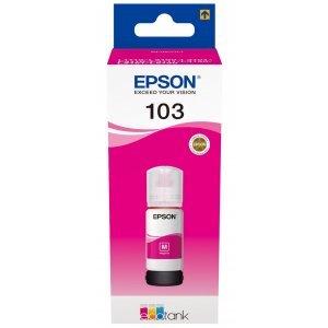 Краска для принтеров с (СНПЧ) Epson 103 Magenta EcoTank ink bottle (C13T00S34A)