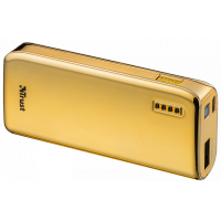 kupit-Портативное зарядное устройство (Power Bank) Trust Powerbank 4400 Portable Charger, Gold (20901)-v-baku-v-azerbaycane