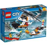 kupit-КОНСТРУКТОР LEGO City Coast Guard Сверхмощный спасательный вертолёт (60166)-v-baku-v-azerbaycane