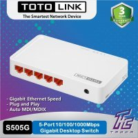 kupit-Свитч TotoLink Gigabit Switch - 5 Port (S505G)-v-baku-v-azerbaycane
