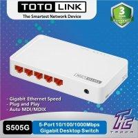 kupit-Свитч TotoLink Gigabit Switch - 5 Port (S505G)-v-baku-v-azerbaycane