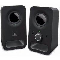 kupit-Акустическая система Logitech Audio System Z150 MIDNIGHT BLACK (980-000814)-v-baku-v-azerbaycane