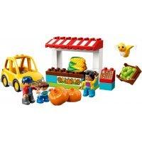 КОНСТРУКТОР LEGO DUPLO Town Фермерский рынок (10867)