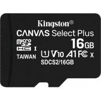 kupit-Карта памяти Kingston 16G micSD Select Pls 100R (SDCS2/16GB)-v-baku-v-azerbaycane