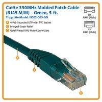 kupit-Кабель Tripp Lite Cat5e 350MHz Molded Patch Cable RJ45M/M - 5' (1,5m) (N002-005)-v-baku-v-azerbaycane