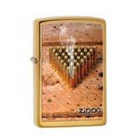 kupit-Зажигалка Zippo Bullets Logo-v-baku-v-azerbaycane