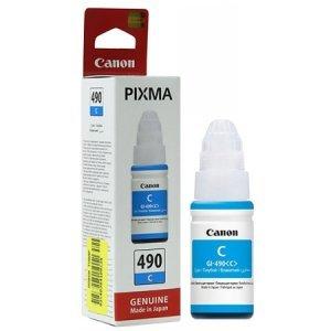 Краска для принтеров с (СНПЧ) Canon INK Bottle GI-490 C (0664C001)