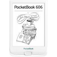 kupit-Электронная книга e-reader PocketBook 606 White (PB606-D-CIS)-v-baku-v-azerbaycane