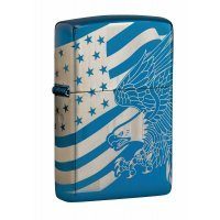 """Зажигалка Zippo """"Patriotic Eagle & Flag Design"""""""