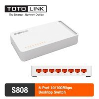 kupit-Свитч TotoLink Switch - 8 Port (S808)-v-baku-v-azerbaycane