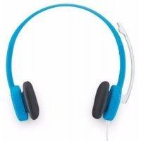 Гарнитура с микрофоном Logitech Corded Stereo Headset H150 Sky Blue (981000368)