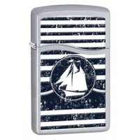 kupit-Газовая зажигалка Zippo Welcome Aboard Nautical-v-baku-v-azerbaycane