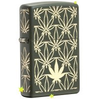 kupit-Зажигалка Zippo All Around Leaf Design Laser-v-baku-v-azerbaycane