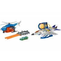kupit-MATTEL Набор игрушек Hot Wheels Super SWAT copter (FDW70)-v-baku-v-azerbaycane
