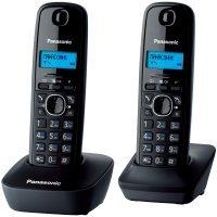 kupit-Домашний телефон Panasonic KX-TG1612UAH (Black)-v-baku-v-azerbaycane