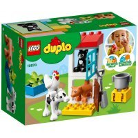 КОНСТРУКТОР LEGO DUPLO Town Ферма: домашние животные (10870)