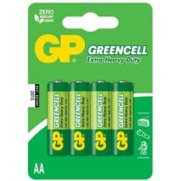 Батарейки GP battery Greencell AA(4) 15G-2UE4