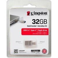 kupit-Флеш память USB Kingston DataTraveler microDuo 3C / 32GB (DTDUO3C/32GB)-v-baku-v-azerbaycane