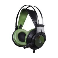 Наушники A4Tech 7,1 Glare Gaming J437 (Army Green)