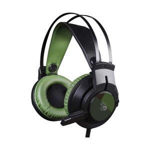 Наушники A4Tech 7,1 Glare Gaming J437 (Army Green)
