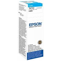 Картридж Epson L800 ink bottle 70ml Cyan (C13T67324A)