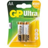 Батарейки GP battery Ultra Alkaline AA(2) 15AU-2UE2