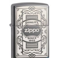 Зажигалка Zippo Quality Zippo Black Ice