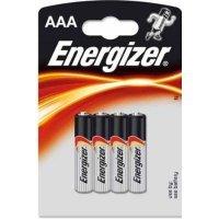 Батарейки Energizer battery Alkaline AAA(4) LR03