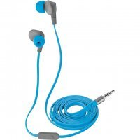 Светоотражающие наушники Trust URBAN Aurus Waterproof In-ear Headphones - blue (20837)