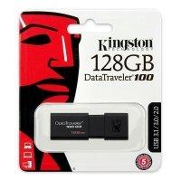 Флеш память USB Kingston 128 GB 3.0 DataTraveler 100 G3 (DT100G3/128GB)