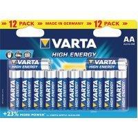 Батарейки VARTA HIGH ENERGY 4906 AA (12)