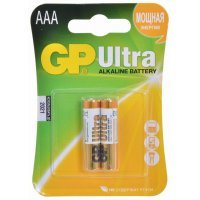 Батарейки GP battery Ultra Alkaline AAA(2) 24AU-2UE2