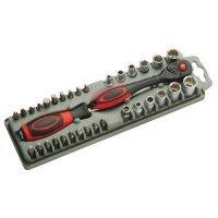 kupit-Набор битодержатель Pro'sKit SD-2307M с трещеточным механизмом с битами-v-baku-v-azerbaycane